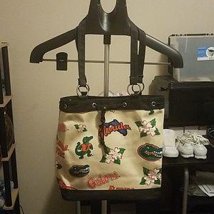 Handbags - Tan University of Florida Purse